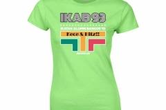T-Shirt-IKAB93-Retro-Cewe-lime