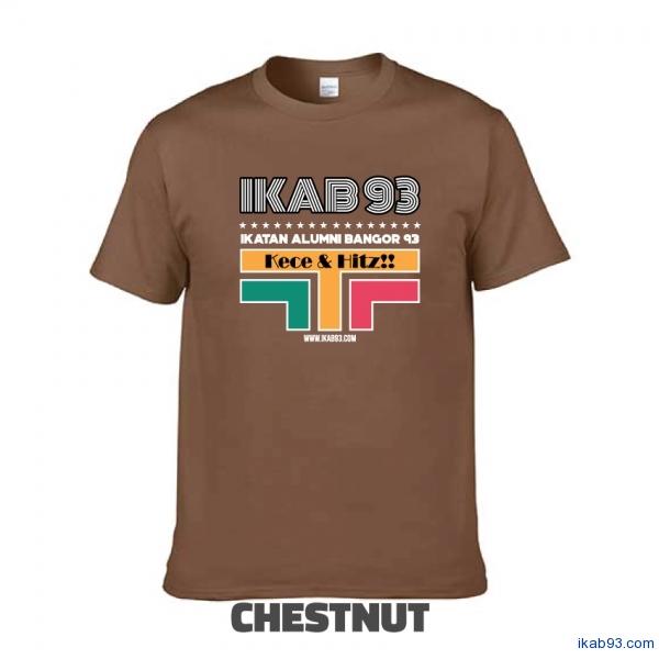 T-Shirt-IKAB93-Retro-chestnut