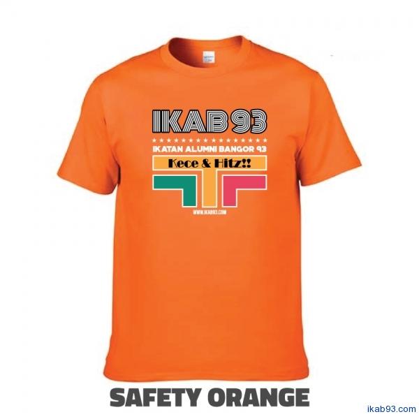 T-Shirt-IKAB93-Retro-safety-orange