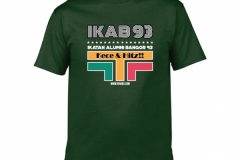 T-Shirt-IKAB93-Retro-forest-green