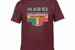 T-Shirt-IKAB93-Retro-maroon