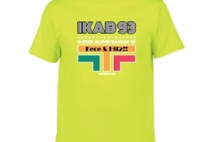 T-Shirt-IKAB93-Retro-safety-green