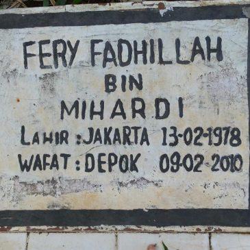 Alm. Fery Fadhillah aka Pe'i