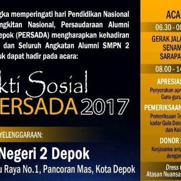Bakti Sosial PERSADA 2017