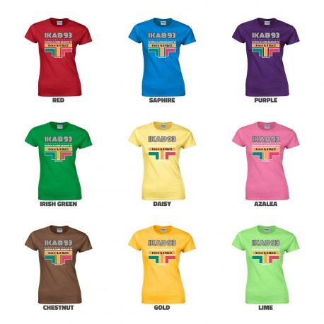 T-Shirt-IKAB93-Retro-Cewe-azalea-COLLAGE
