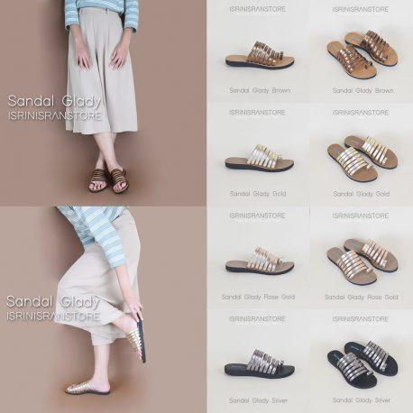 Glady sandal by isrin isran