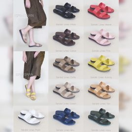 "Linea Sandal ""Handmade by Isrin Isran"" – by Suci Nurcahyanto"