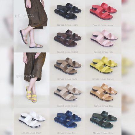 Linea sandal by isrin isran