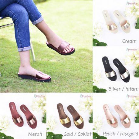 Strapie sandal by isrin isran