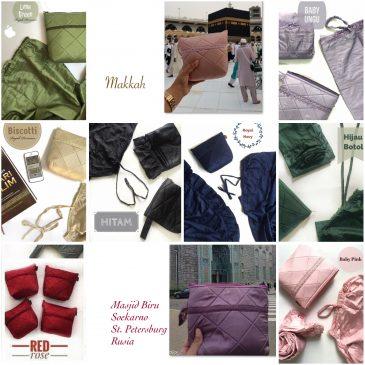 Mukena Travelling / Parasut Royale Premium – by Windy Destianie