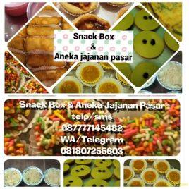 Snack Box & Jajanan Pasar – by Ari Budi