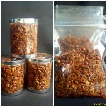 Kering Tempe Teri Plus Kacang – by Cut Thya